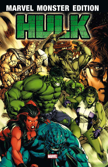 Marvel Monster Edition 40: Hulk 1