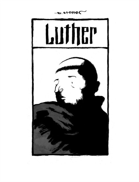 Luther - Die Graphic Novel (Skizzen & Entwürfe)