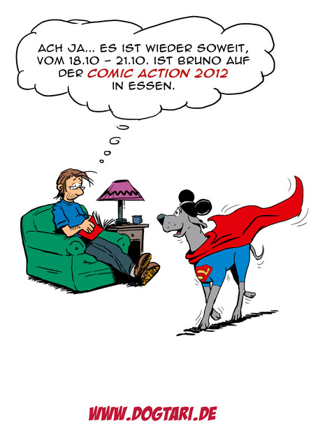 Bruno auf der Comic Action 2012