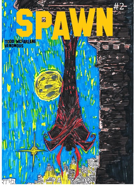 Spawn #2 (drawning by Venomous)