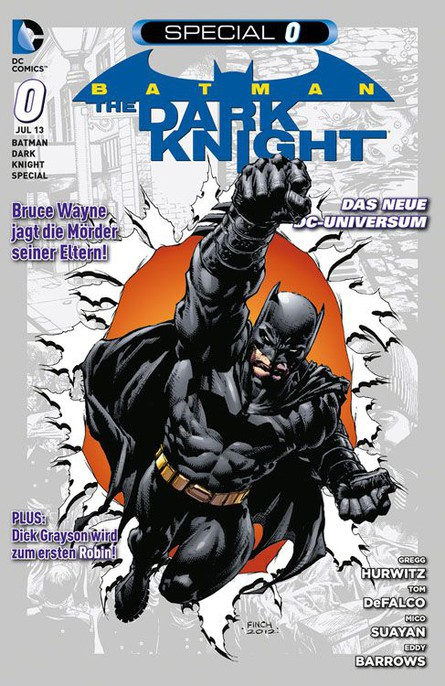 Batman - The Dark Knight Special 0