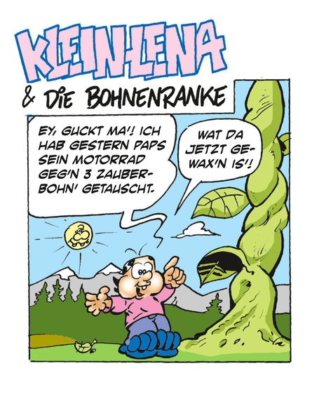 2 nagelneue Lena-Strips